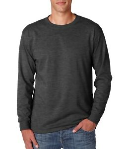 e294e9953d6 JERZEES® - Heavyweight Blend™ 50 50 Cotton Poly Long Sleeve T-Shirt ...