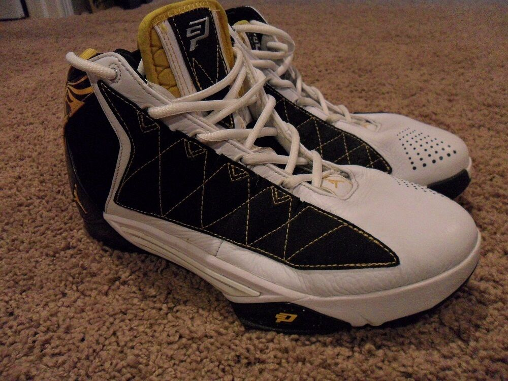 Nike Air Jordan Chris Paul CP3 Mens Shoes Size 10 White Yellow Black
