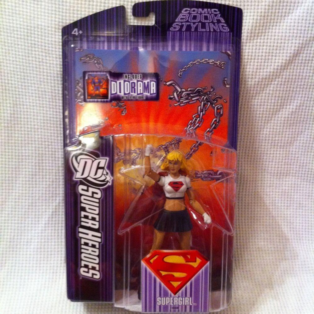 DC SuperHeroes SUPERGIRL  RARE Variant S3 NIB