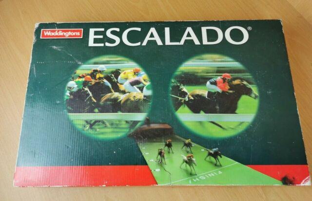 Waddingtons Escalado Vinatge Horse Racing Game 2004 Hasbro / Complete.