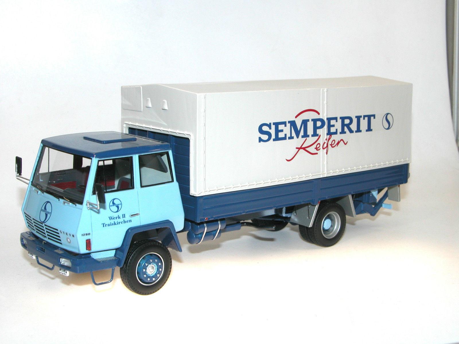 Autocult 11001, 1968 Steyr 1290 carrosserie Semperit pneus 1 43 limitée