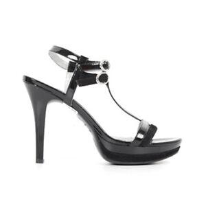 Sandale Femme En Noir Jardins Pour 100 P615751de Cuir RPqwgcUzxq