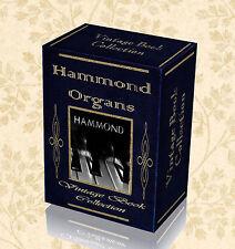 Hammond Electronic Organ 170 Books & Service Manuals Repair Restore Fix - DVD 21