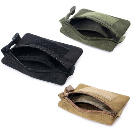 Tactical Small Molle Pouch Outdoor Organizer Military Bag Travel Coin Purse