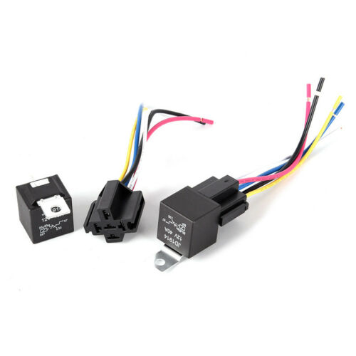 Waterproof Automotive Relay 12V 5Pin 40A Car Relay 12V 5Pin With Relay Socket ^F