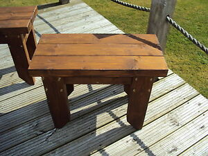 Wooden-Quality-Handmade-Garden-kitchen-Dining-Bench-Seat-Sturdy-And-Solid-2ft