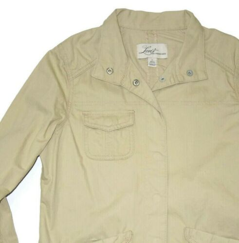 Tan 845943078729 Medium 60 Størrelse Jacket Casual Women's Levi's Khaki Cotton Retail EwBS6q
