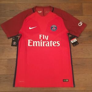NIKE-Paris-Saint-Germain-PSG-AEROSWIFT-AWAY-MATCH-AUTHENTIC-L-Rouge-Neuf
