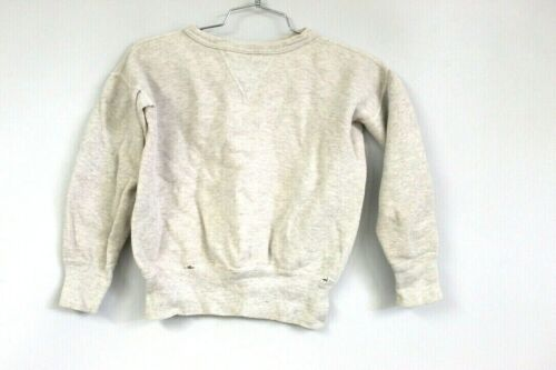 Vtg 40s Single  V  Cotton Gray SweatShirt XS MEns