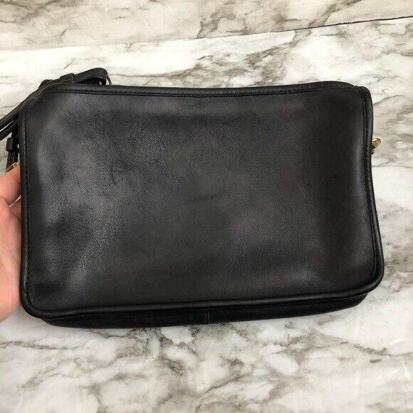 Coach Black Leather Bonnie Cashin Shoulder Bag - image 2