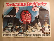DRACULAS RÜCKKEHR - Dracula has risen from the grave - Poster Plakat - Hammer