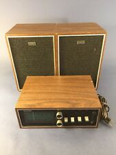Vintage Sharp MPX-37 Radio Component System With Speakers, Works but has issues