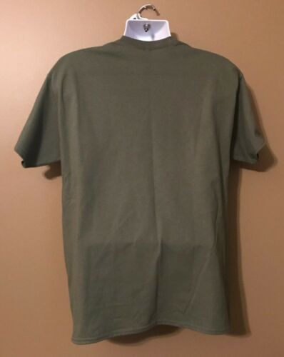 ARMY RANGER SPECIAL FORCES SOF Follow Me OD Green Short Slv Morale T-Shirt