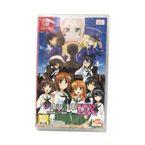 Girls-UND-Panzer-Dream-Tank-Match-DX-Nintendo-Switch-Chinese-English-New