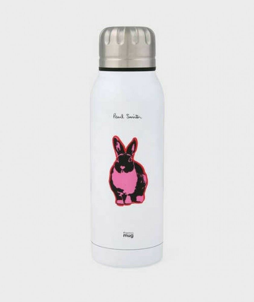 Paul Smith Pop Lapin Portable Inoxydable Thermo Bouteille Blanc Japon Avec