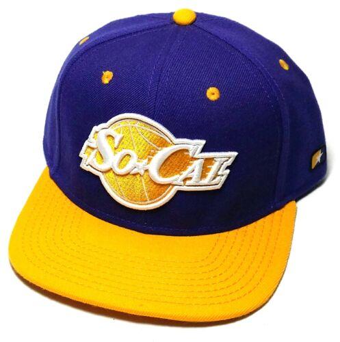 So Cal California Republic Pipeline Los Angeles Lakers Purple Gold Snapback Hat