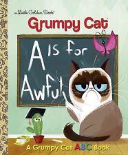 Little Golden Book: Grumpy Cat Little Golden Book #2 (Grumpy Cat) by Christy Webster (2017, Hardcover)