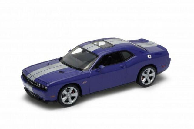 Dodge Challenger Srt Violeta 2012 1/24 welly