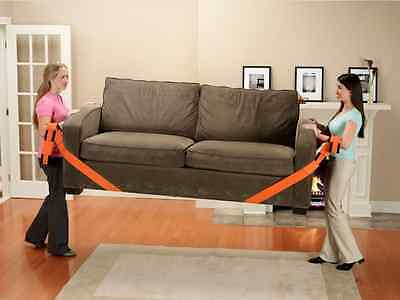 New Orange straps Forearm Forklift lifting and moving furniture Carrying Belt