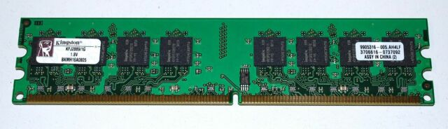 Kingston RAM 1GB DDR2 DDRII DDR II KFJ2888/1G PC2-533 1,8V nonECC