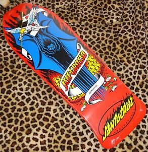 SANTA-CRUZ-Jeff-Grosso-Demon-Tabla-Skate-25-4cmx76-5cm-Rojo-A-La-Vieja-Usanza-Re