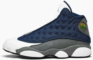 Air Jordan 13 Flint Grey Retro Navy White Gray 414571-404