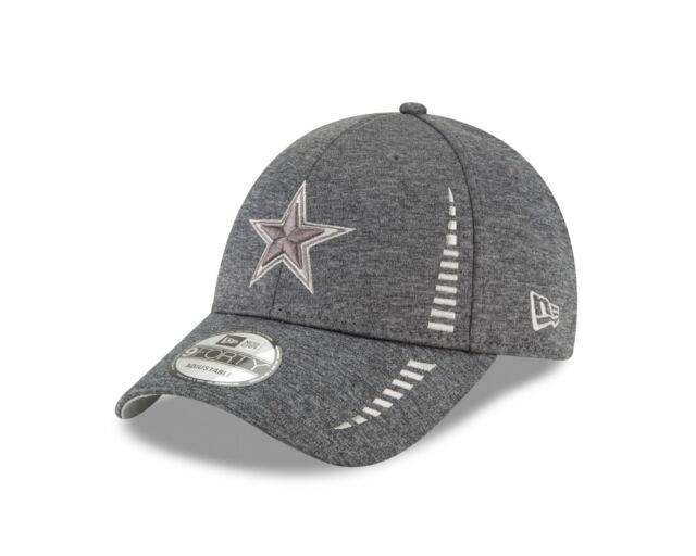 super cute e8bdd 2ad78 Dallas Cowboy New Era Speed Tech 9FORTY NFL Adjustable Cap- Graphite