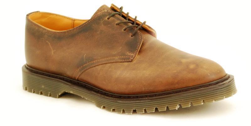 Solovair NPS Shoes Made in England 4 Eye Gaucho Shoe Ben S046-CSL4995GAU