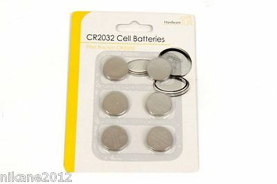 Button Cell Batteries Cr2032 6 Pack Free Postage