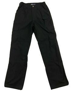 511 Para Hombres Pantalones Tacticos Negro De 30 X 34 74273 La Policia Policia Militar Ebay