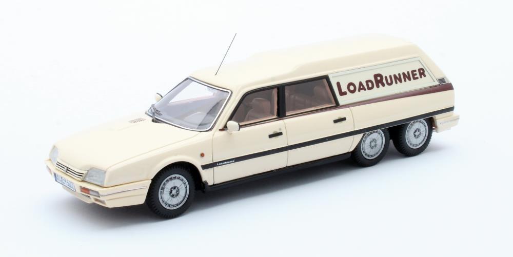 Citroen CX Loadrunner modèle rallongé crème 1989 1 43 Matrix