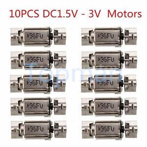 10Pcs-3x4mm-DC1-5V-3V-Mini-Micro-Tiny-Dual-Vibrating-Vibrator-Vibration-Motors