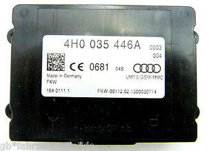 Audi-A4-8K-A5-Q5-8R-A6-4G-A8-4H-Signal-Verstaerker-Mobilfunk-Compenser-4H0035446A