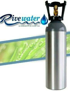 Bombola Co2 alimentare in alluminio 4 Kg Ricaricabile gasatore depuratore acqua