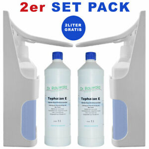 2-Spender-2-Liter-Desinfektionsmittel-Desinfektionsmittelspender-Automat-Haende