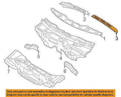 Original Audi bride couvercle 061409131 a 0b1409131 a41819