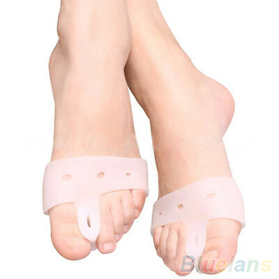 2X Effective Toe Separators Pain Relief Straighteners Bunion Hallux Valgus Hot