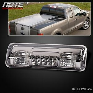smoke led third 3rd brake tail light lamp for 04 08 ford f. Black Bedroom Furniture Sets. Home Design Ideas