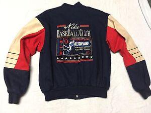 df3ca86d0408 Vintage Nike Sportsmen s Park All Star Game 1940 Baseball Wool Snap ...
