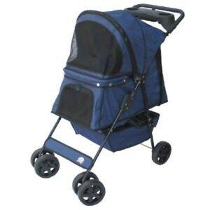 Go-Pet-Club-Pet-Stroller-Blue-PSB001-Pet-Stroller-NEW