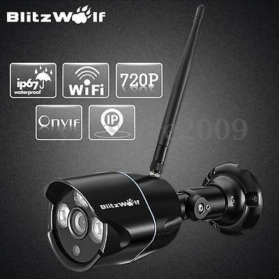 BlitzWolf Wireless WIFI HD 720P IP Camera ONVIF 2.0 Outdoor Security Waterproof