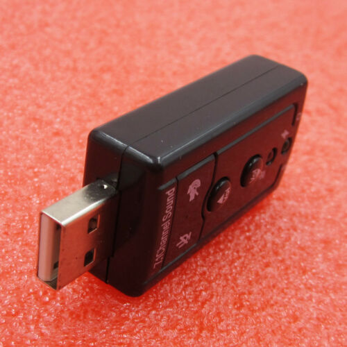 Mini USB 2.0 7.1 Channel Hudio Sound Card Sound Hdapter For PC Laptop