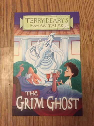 1 of 1 - The Grim Ghost by Terry Deary (Paperback, 2008) New Book