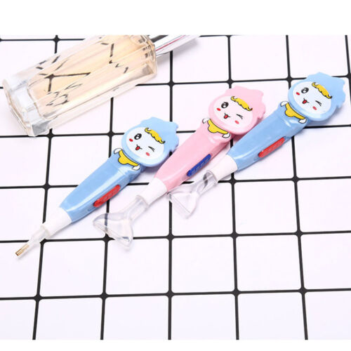 1pc DIY 5D Diamond Painting Rhinestone Sticky Pen Embroidery Stich Tool with LED