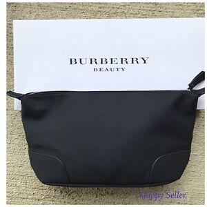 Burberry-Fragrances-Men-Toiletry-Case-Pouch-Shaving-Dopp-Kit-Travel-Bag-NEW