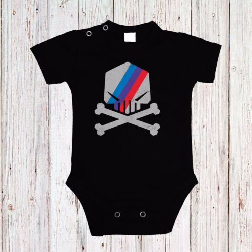 BABY BODY MOTORSPORT POWER SKULL BMW CAR LANGARM//KURZARM BLACK