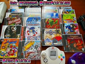 Lote De Juegos Sega Dreamcast Retro Top Juegos Consola