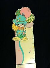 Precious Moments clown wooden Growth Chart new