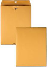Business Envelopes 100 Kraft 10x13 Clasp Catalog Manila Brown Yellow Flap 28 Lb