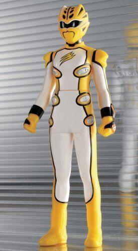 "Power Rangers Jungle Fury Jungle Master Yellow Geki Ranger 6/"" Action Figure"